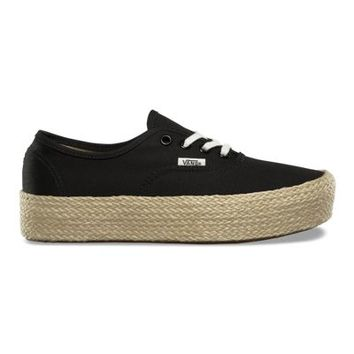 Authentic Platform Espadrille | Shop At Vans