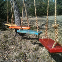 Set of Two Large Tree Swings