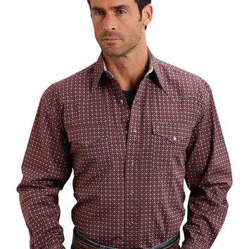 Stetson Circles Two Pocket Snap Shirt