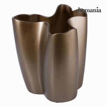 Copper ceramica vase by Homania