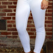 Karen Rolled Skinny Jean {Optic White} by Articles of Society