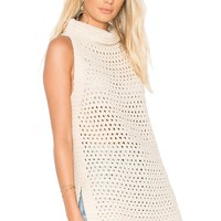 Free People Northern Lights Vest in Ivory | REVOLVE