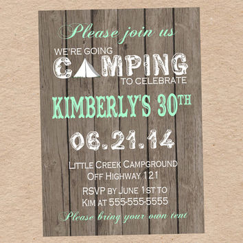 Camping invites for birthdays image collections coloring pages adult camping invites for birthdays images coloring pages adult filmwisefo