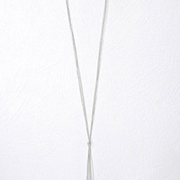 Lariat Chain Necklace