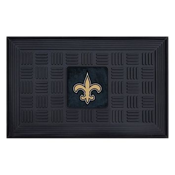 New Orleans Saints NFL Vinyl Doormat (19x30)