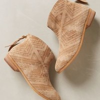 Goldie Booties by Cynthia Vincent Taupe