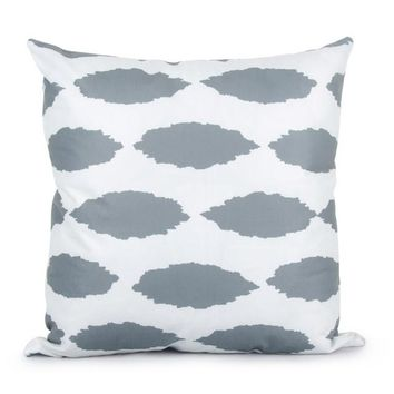 Geometric Gray Pillow Covers