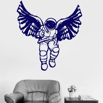 Vinyl Wall Decal Cosmonaut Astronaut Space Great Decor for Kids Room Stickers Unique Gift (ig3026)
