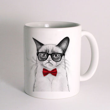 Grumpy Cat for Mug Design