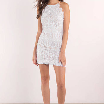 Give Me Your Love Lace Bodycon Dress