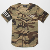 Civil Global Member Mens Baseball Jersey Camo  In Sizes
