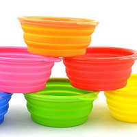 Collapsible Silicone Travel Dog Pet Bowl