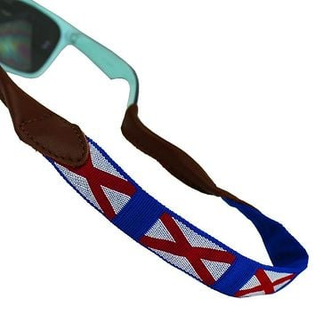 Alabama Needlepoint Sunglass Strap by 39th Parallel