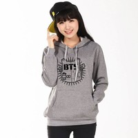 2017 BTS Sweatshirts Unisex BTS Bangtan Boys Hoodies K-pop BTS Shirt Winter Cotton Men Women's Fashion  BTS Kpop