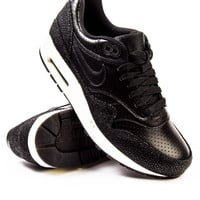 Nike Air Max 1 Leather PA Black/Black/Sea Glass/Black Sneaker
