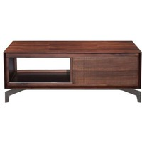 ZUO Modern Perth Coffee Table Chestnut 100590 Living Coffee,Side ,Consoles
