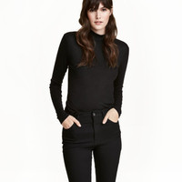 H&M Fine-knit Turtleneck Top $17.99