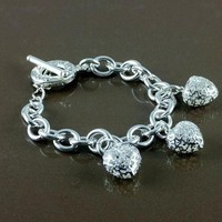 8DESS Tiffany Woman Accessories Fine Jewelry Chain Bracelet