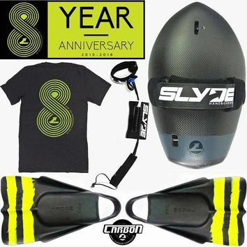 The Hawaiian Bula Carbon Black And Dafin Ultimate 8th Anniversary Package Includes Leash And Eight Year Anniversary T-Shirt