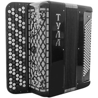 Brand New Concert 5 Rows Bayan Tula with Solid Treble and Bass Reeds, Great Russian Chromatic Button Accordion, High-class Musical Instrument, Bn 19, 5 Row 120 Bass Stradella B-system