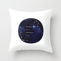 ALL OF THE STARS - ED SHEERAN Throw Pillow by infinitum