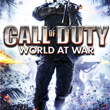 Call of Duty World at War - Wii (Very Good)