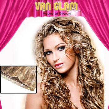 """Naturally Curly, Highlights, Linxx, Micro Weft, Hair Extensions, 24"""""""