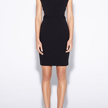 Caleb Cutout Crepe Dress