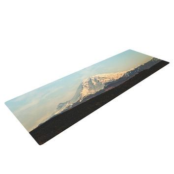 "Sylvia Cook ""Mt. Rainier"" Mountain Photo Yoga Mat"