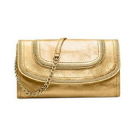 MICHAEL Michael Kors Handbag, Naomi Clutch nwt gold handbag bag purse