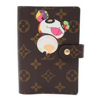 LOUIS VUITTON Agenda PM Notebook Cover Monogram Panda Brown R20011