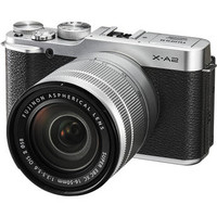 X-A2 Mirrorless Digital Camera with 16-50mm Lens (Silver)