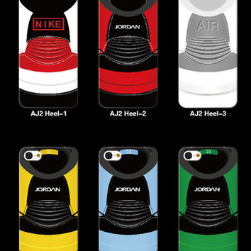 Air Jordan 2 (heel) phone case
