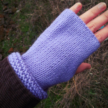 Knit Fingerless Gloves, Fingerless Mittens, Women Gloves, Fingerless Wool Gloves, Handknit Wool Mittens, Arm Warmer, Snowflake Ornament