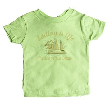 Sailing Is Life The Rest Is Just Details Baby Tee