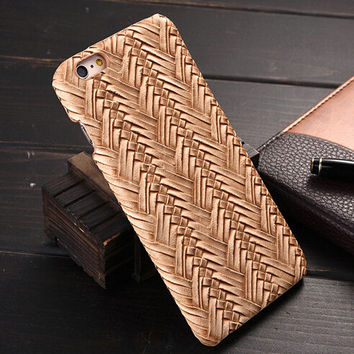 Khaki Weave iPhone 6 6s Plus Case Cover Gift 20