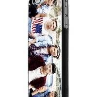 One Direction Cool Photo Megazine 2 Custom Case for Iphone 5/5s Iphone 6/6 Plus Black and White (iPhone 6 Black Plastic)
