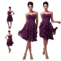 Grace Karin VINTAGE Short Formal Prom Graduation Evening Party Homecoming Bridesmaid Dresses = 5739037953