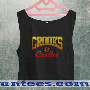 Crooks & Castle Womens Crop Tank
