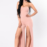 Something Sweet Jumpsuit - Mauve