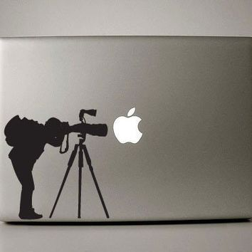 MacBook decals  photographer by williamandcindy on Etsy