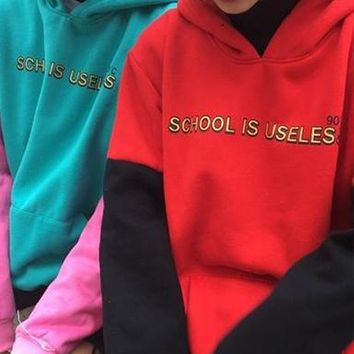 School Is Useless Sweater