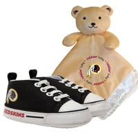 Washington Redskins NFL Infant Blanket and Shoe Set