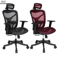 Ancheer Chair Adjustable High Mesh Executive Office Computer Desk Ergonomic Chair Lift Swivel Chair #10-20