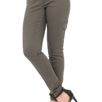YMI WANNA BETTA BUTT CARGO SKINNY JEAN