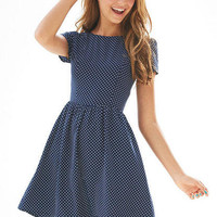 Pin Dot Dress
