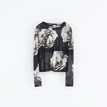 """ROMANTIC GRUNGE"" T - SHIRT - T - shirts - WOMAN 