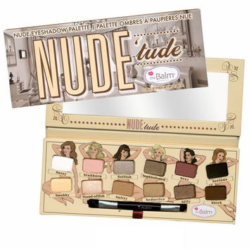 the Balm thebalm Nude tude 12 colors eye shadow