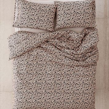 Leopard Print Duvet Cover Set | Urban Outfitters