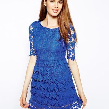 Oh My Love Lace Dress